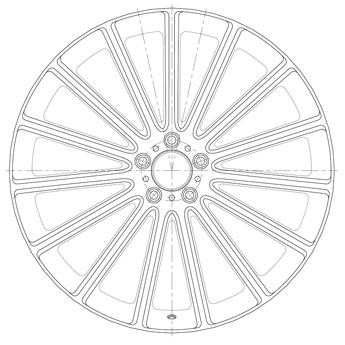 Mandrus Wheel Technology Drawing