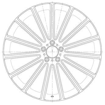 Mandrus Wheel Technology Drawing